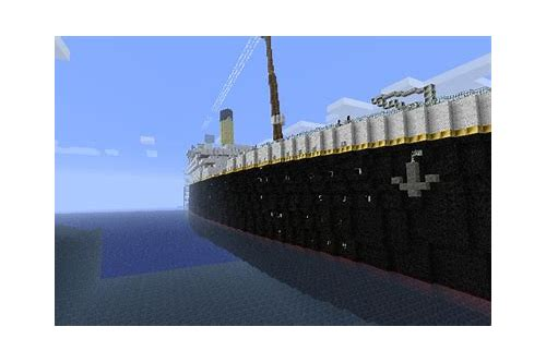 minecraft titanic wreck map download