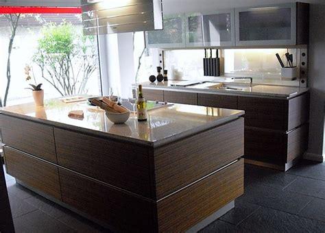 Miele Küchenmusterküche Grifflose, Edle Küche Mit Granit