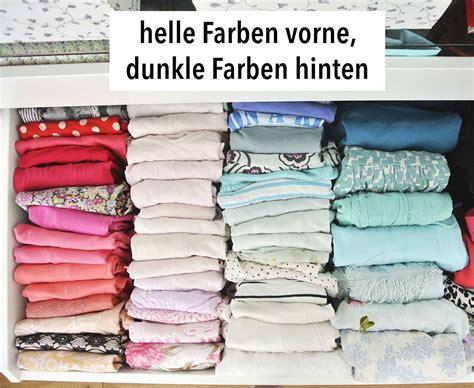 Kondo Falten by Kleiderschrank Aufr 228 Umen Mit Der Konmari Magic Cleaning