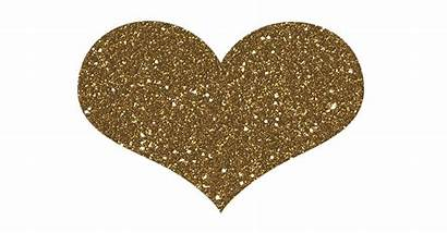 Heart Glitter Animated Sparkling Hearts Gifs Transparent