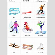 Winter Sports Flashcards  Szukaj W Google  Winter Sports  English Vocabulary, English Lessons