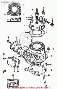 Suzuki Rm125 1989  K  United Kingdom France Australia  E02