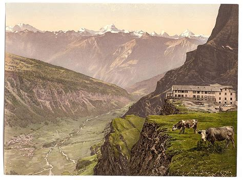 History Of Tourism And Postcards 1905 Photochroms Of