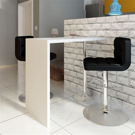 pied pour table bar la boutique en ligne table blanche verniss 233 e table de bar 1 pied vidaxl fr