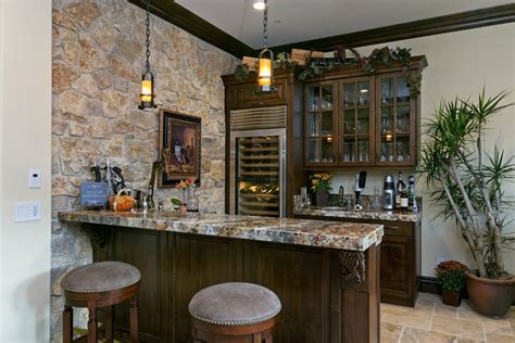 wine bar ideas for home stone bar designs basement contemporary with oak cabinets stainless steel backsplash wet bar