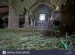 fragrant rushes layered on the floor of pistyll church With rushes floor