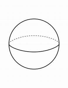 Flashcard Of A Sphere