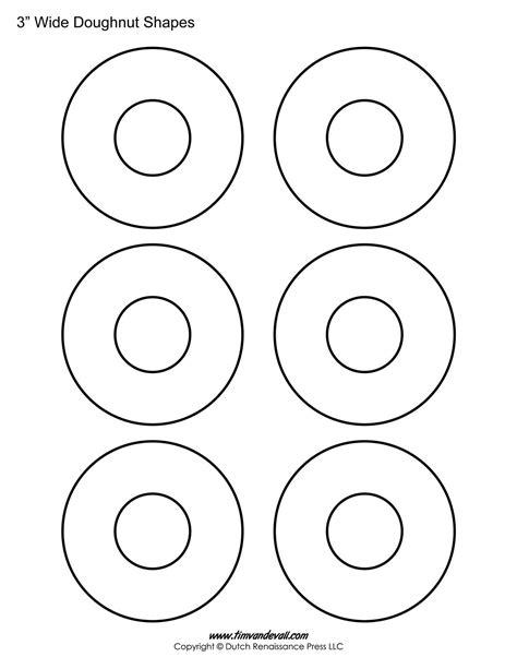 donut template donut printables freepsychiclovereadings