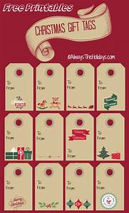 christmas labels print out these christmas gift tags With how to print out labels