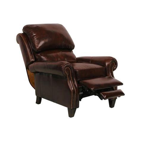churchill ii leather recliner  barcalounger