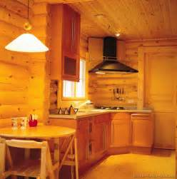 Log Cabin Kitchen Cabinet Ideas by Log Home Kitchens Pictures Design Ideas
