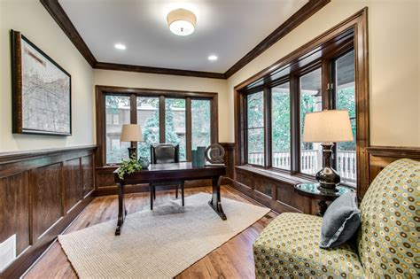 staging  chicagoland home office     desk