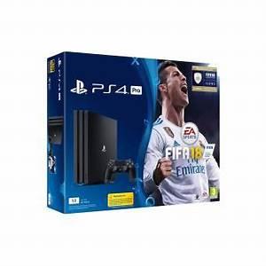 Ps4 Pro Avis : pack console sony ps4 pro 1 to noire fifa 18 console de jeux achat prix fnac ~ Medecine-chirurgie-esthetiques.com Avis de Voitures