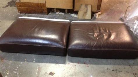 restauration canap cuir rembourrage assise canapé cuir à toulon restauration