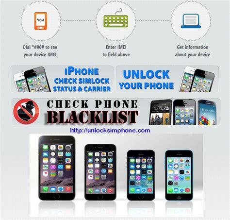 iphone blacklist check unlock iphone unlocksimphone