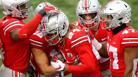 Ohio State football 2020 remaining schedule ESPN win ...