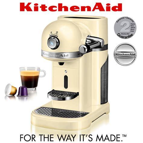 Kitchenaid   Artisan Nespresso Machine   Almond Cream   Coffee