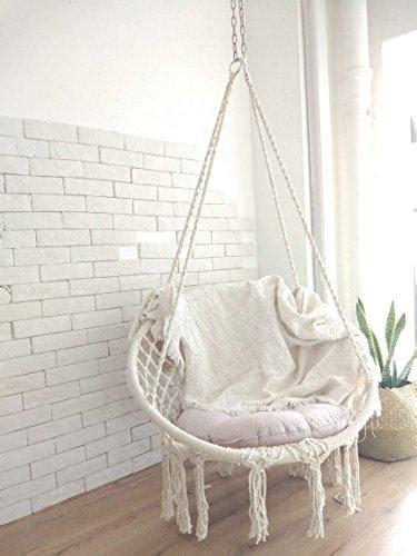 boho style macrame hanging chair hammock town