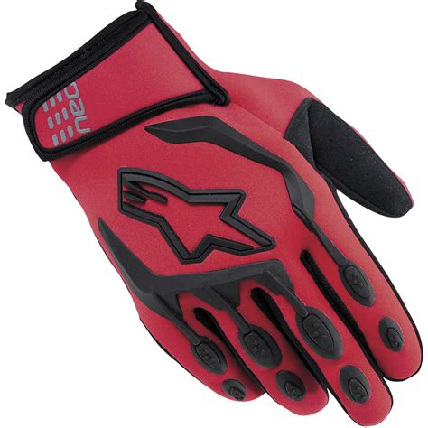 alpinestars motocross gloves alpinestars neo moto neoprene all weather motocross enduro