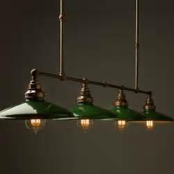 Multi Pendant Light by Vintage Edison Long Billiard Table Light