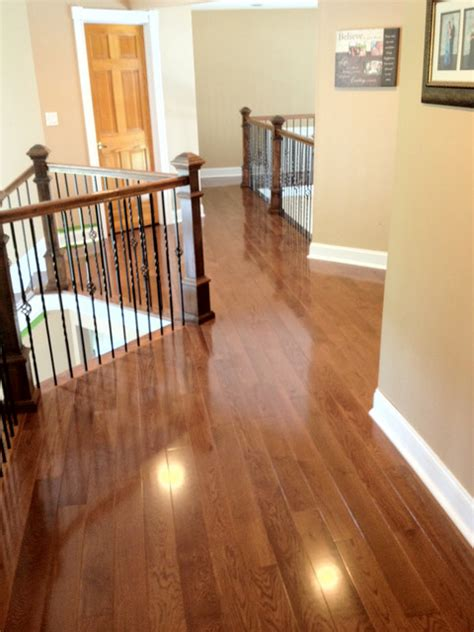 oak with warm walnut stain traditional other metro by hardwoods4less llc