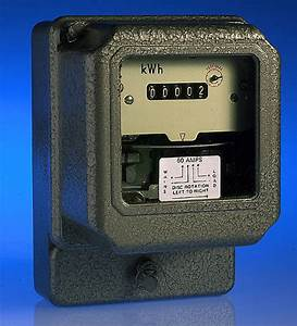 60 Amp Single Phase Digital Check Meter
