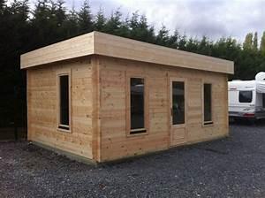 Garage En Bois Toit Plat : double garage bois toit plat ~ Dailycaller-alerts.com Idées de Décoration