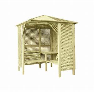Sichtzäune Aus Holz : gartenlaube 4m 200x200cm wooder ~ Watch28wear.com Haus und Dekorationen