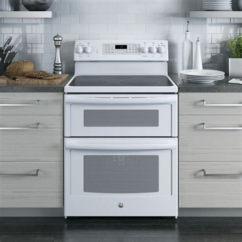 jbdjww ge  convection electric range steam  clean white