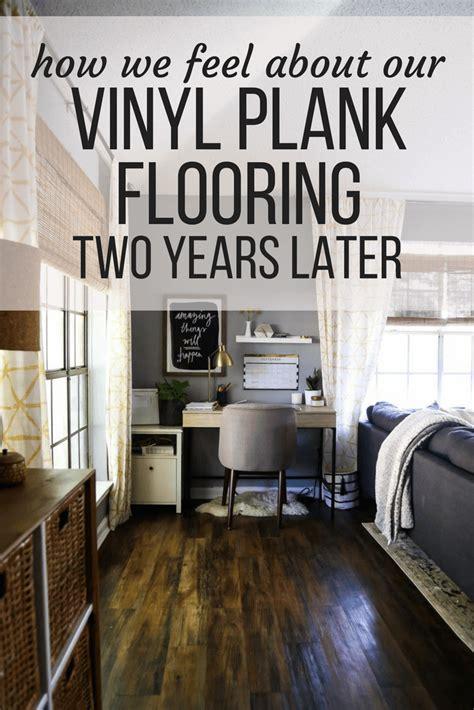luxury vinyl plank flooring vinyl plank flooring review 2 years later