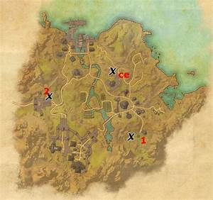 Bal Foyen Treasure Map Locations Elder Scrolls Online Guides