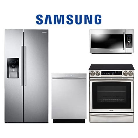 Samsung KITCHENSUITE2   4 PC Appliance Package with