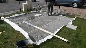Sur Quoi Poser Un Abri De Jardin : construction de notre dalle pour abri de jardin notre ~ Dailycaller-alerts.com Idées de Décoration