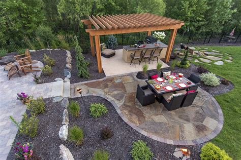 hamel backyard pool and patio southview design