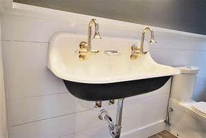 Small wall mounted sink a good choice for space for How to install wall mounted sink