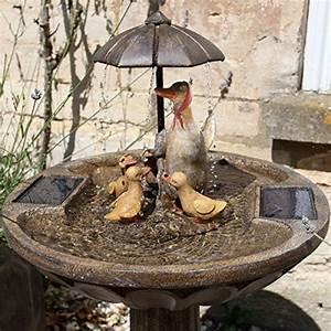 fontaine de jardin solaire resine effet bronze 84cm With decoration de jardin en resine 6 fontaine solaire jardin fontaine solaire exterieur bassin