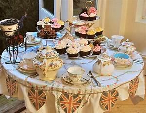 Elegant Tea Party Table Settings
