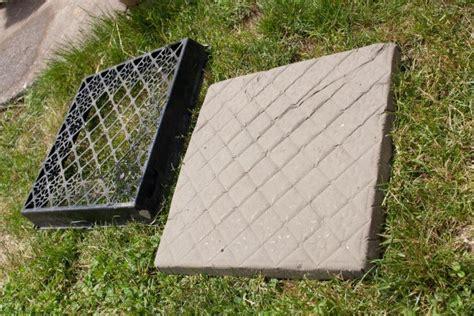 concrete stepping stones thriftyfun