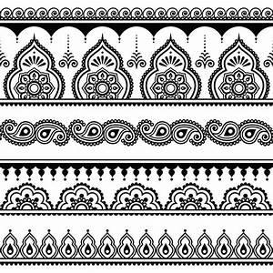 Henna Muster Schablone : anleitung henna tattoo selber machen inkl muster motive womz ~ Frokenaadalensverden.com Haus und Dekorationen