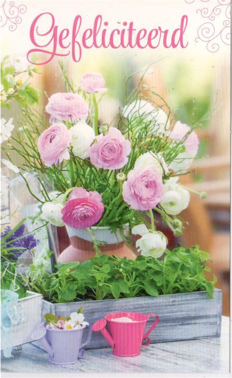 bloem gedichtje bloemen verjaardag verjaardag cheque
