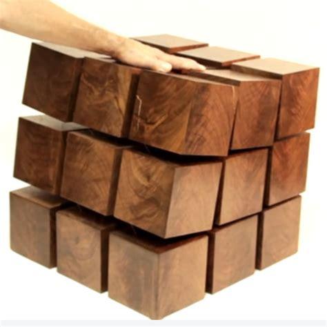 Tensile Table Floating Wood Furniture Levitates Via