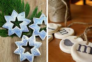 decoration de noel en pate a sel