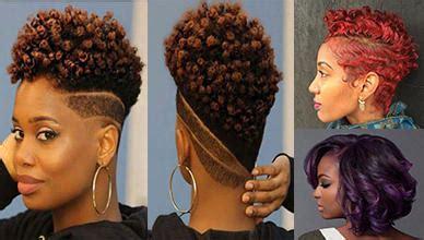 lovely  short natural hairstyles  black women