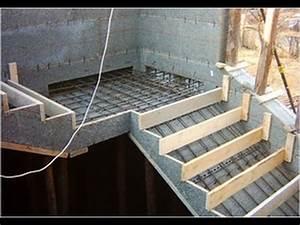 treppe selber bauen beton treppe betonieren treppe With französischer balkon mit garten wand verkleiden