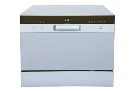 spt countertop dishwasher spt sd 2224ds countertop dishwasher review