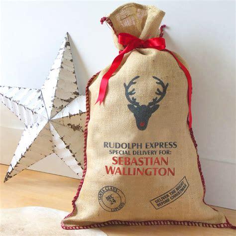 personalised christmas sack by jonny s sister