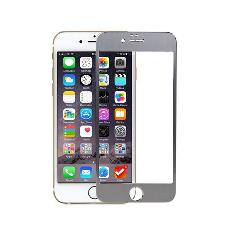 silver iphone 6 plus snugg iphone 6 screen protector in silver