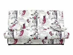 Housse De Clic Clac But : housse pour clic clac prima 160cm prima romantic vente ~ Dallasstarsshop.com Idées de Décoration