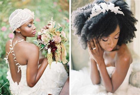 008 southboundbride black natural wedding hair inspiration