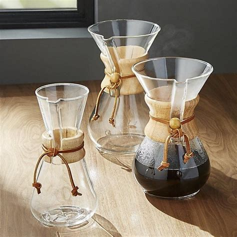 A popular recommendation uses 18 grams of water for every gram of coffee. CHEMEX® Coffeemaker | Chemex coffee, Pour over coffee ...